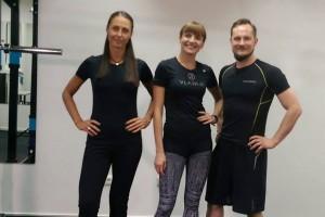 """Kineziterapeutai Eimantas ir Viktoras laidoje """"Mitybos ir sporto balansas"""""""